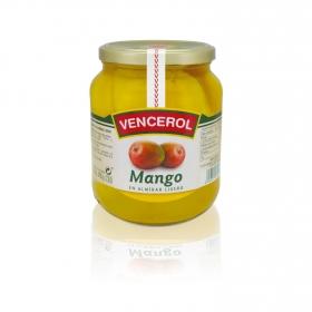 Mango en almíbar Vencerol 700 g.