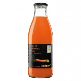 Zumo de zanahoria y aloe ecológico Delizum botella 1 l.