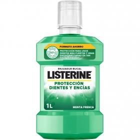 Enjuague bucal Dientes y encias Listerine 1 l.
