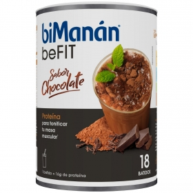 Batido hiperproteico sabor chocolate Bimanán 560 g.