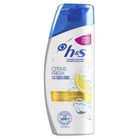 Champú anticaspa para cabello graso Citrus Fresh H&S 90 ml.