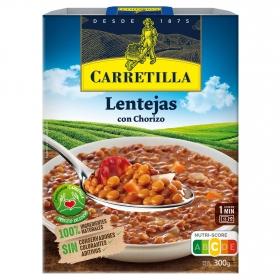 Lentejas estilo casero Carretilla 300 g.