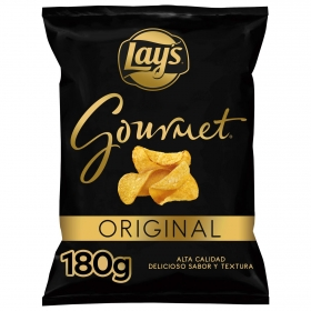 Patatas fritas gourmet sabor original Lay's 180 g.