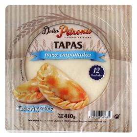 Tapas para empanada Doña Petrona 410 g.