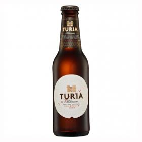 Cerveza Turia Märzen de Valencia tostada botella 25 cl.
