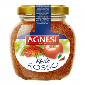 Salsa pesto Agnesi tarro 185 g.