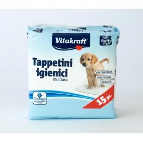 Almohadillas sanitarias para cachorros Vitakraft 60x60