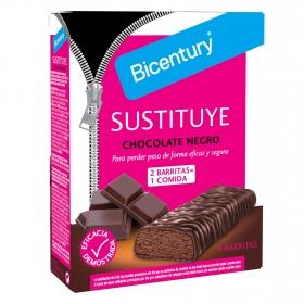Galletas con chocolate negro Bicentury 210 g.