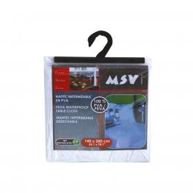 Mantel Individual Rectangular de PVA MSV 1pz - Blanco