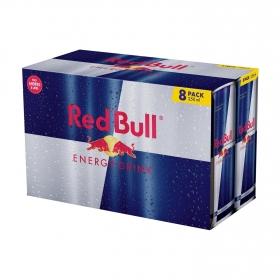 Bebida energética Red Bull pack de 8 latas de 25 cl.