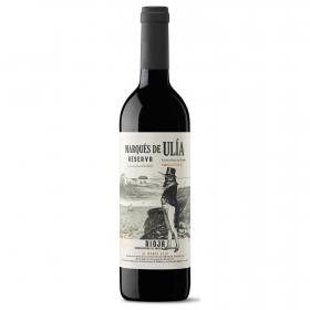 Vino D.O. Rioja tinto reserva Marqués de Ulía 75 cl.