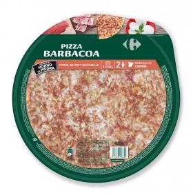 Pizza barbacoa Carrefour 400 g.