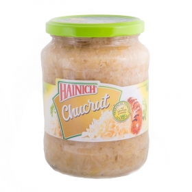 Col en conserva choucroute cristal Hainich 650 g.