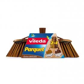 Cepillo de interior Parquet 2en1 Vileda  - Marrón