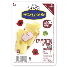 Queso emmental en lonchas Millan Vicente 150 g.