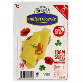 Queso edam en lonchas Millán Vicente 150 g.