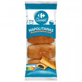Napolitana Chocolate Carrefour 320 g.