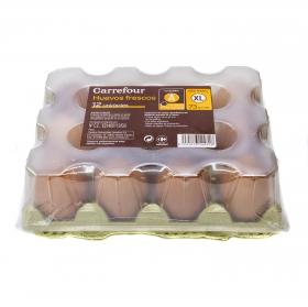 Huevos XL Carrefour 12 ud.