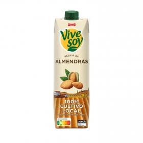 Bebida de almendras sabor natural ViveSoy brik 1 l.