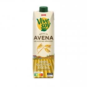 Bebida de avena sin azúcar añadido ViveSoy brik 1 l.