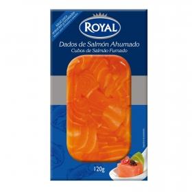Dados de salmón Royal 120 g.
