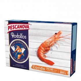 Langostino cocido extra Pescanova 800 g.