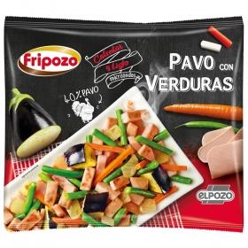 Pavo con verduras Fripozo 408 g.