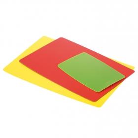 Tablas Cortar Flexible TESCOMA Presto 3 ud - Multicolor