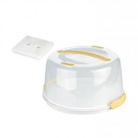 Bandeja Refrigerante Tapa TESCOMA Delicia 34 cm - Blanco