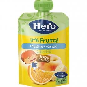 Bolsita Hero Baby Fruta Mediterránea 100 gr