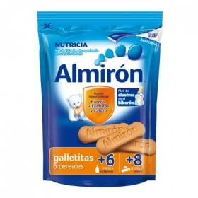 Galletas infantiles desde 6-8 meses de 6 cereales Almirón Nutricia 125 g.