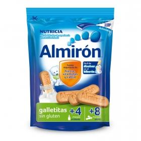 Galletas infantiles desde 6-8 meses de 6 cereales Almirón Nutricia sin gluten 180 g.