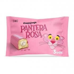 Pastel Pantera Rosa Bimbo pack de 3 unidades de 55 g.