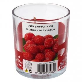 Vela perfumada frutas del bosque Roura 1 ud.