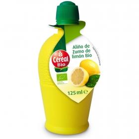 Aliño de zumo de limón ecológico Cereal Bio 125 ml.
