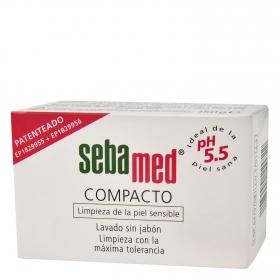 Compacto lavado de la piel sin jabón Sebamed 150 g.