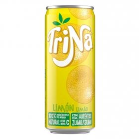 Refresco de limón Trina sin gas lata 33 cl.