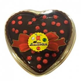 Corazones chocolate lacasitos rojos 450 g