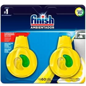 Ambientador de lavavajillas aroma limón y lima Finish 1 ud.