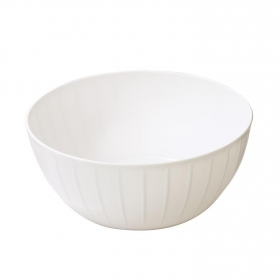 Bol Plástico TESCOMA Delicia 28 cm- Blanco