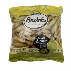 Picos camperos con aceite de oliva y ajonjoli Andrés 180 g.