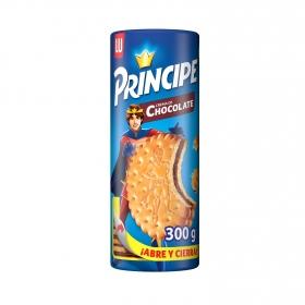 Galletas rellenas de crema de chocolate Príncipe 300 g.