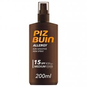 Spray solar Allergy FP 15 Piz Buin 200 ml.