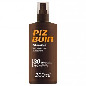 Spray solar Allergy FP 30 Piz Buin 200 ml.