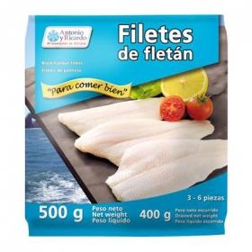 Filetes de fletán Antonio y Ricardo 500 g.