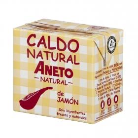 Caldo natural de jamón Aneto sin gluten 500 ml.