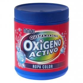 Quitamanchas ropa de color en polvo Oxi Activo Mimidu 1 kg.
