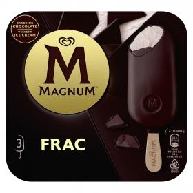 Bombón helado Frac Magnum sin gluten pack de 3 unidades de 110 g.