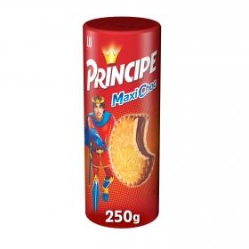Galletas rellenas de crema de chocolate Maxi Choc Príncipe 250 g.
