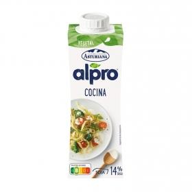 Nata para cocinar Alpro - Central Lechera Asturiana con soja 250 ml.